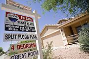 June 02, 2008 -- QUEEN CREEK, AZ: Queen Creek, a suburb of Phoenix southeast has been hard hit by the subprime mortgage meltdown and housing slump. PHOTO BY JACK KURTZ