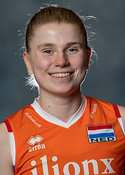 14-05-2019 NED: Photoshoot national volleyball team Women, Arnhem<br /> Florien Reesink of Netherlands