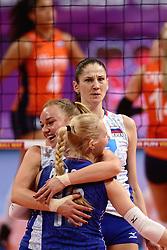 09-01-2016 TUR: European Olympic Qualification Tournament Rusland - Nederland, Ankara<br /> De Nederlandse volleybalsters hebben de finale van het olympisch kwalificatietoernooi tegen Rusland verloren. Oranje boog met 3-1 voor de Europees kampioen (25-21, 22-25, 25-19, 25-20) / Tatiana Kosheleva #15 of Rusland