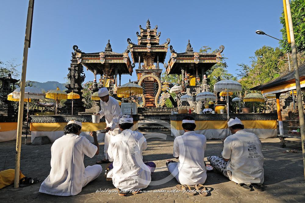 Pura Melanting, Melanting Tempel, Melanting Temple, balinesischer Tempel, balinese Temple, Hinduistische Opferzeremonie im Melanting Tempel, hinduistic ceremony in Melanting Temple, Bali, Indonesien, Indonesia Asien, Asia