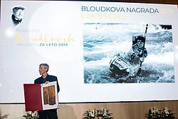 Andrej Tercelj at 55th Annual Awards of Stanko Bloudek for sports achievements in Slovenia in year 2018 on February 4, 2020 in Brdo Congress Center, Kranj , Slovenia. Photo by Grega Valancic / Sportida