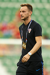 September 11, 2018 - Elche, Spain - Ivan Rakitic of Croatia before the UEFA Nations League football match between Spain and Croatia at Martinez Valero Stadium in Elche, Spain on September 8, 2018. (Credit Image: © Jose Breton/NurPhoto/ZUMA Press)