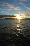 Sunrise, Lake Taupo. North Island, New Zealand<br />