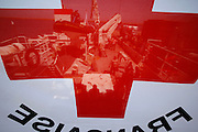 French Red Cross and Malta Red Cross mission to Misrata, Libya..Photo by DARRIN ZAMMIT LUPI