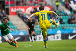 Jure Matjasic of NK Domzale during 2nd leg match of 1st Round Qualifications for European League between FC Flora and NK Domzale, on July 7, 2017 on Le Coq Arena, Tallinn, Estonia. Photo by Ziga Zupan / Sportida