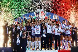 03-02-2019 ITA: Igor Gorgonzola Novara - Pomi Casalmaggiore, Verona <br /> Finali Samsung Coppa Italia 2018-2019 Pallavolo Femminile / Team Novara win the Coppa Italia <br /> <br /> *** Netherlands use only ***
