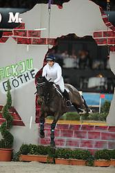 Tattersall Gemma, (GBR), Tropique<br /> Indoor Derby<br /> Stuttgart - German Masters 2015<br /> © Hippo Foto - Stefan Lafrentz