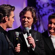 NLD/Hilversum/20111130 - Rene Froger & Jeroen van der Boom geven concert voor Stichting Don, Jeroen van der Boom, Frits Sissing, Rene Froger en Sonny Hoogwerf