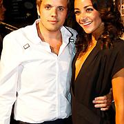 NLD/Amsterdam/20100629 - Premiere Twilight Saga - The Eclipse, X-factor 2010 deelnemer Jaap Siewersma en partner