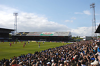 Ninian Park crowd watch their last League game at the ground. Cardiff City v Ipswich Town 25/4/2009 Credit : Colorsport / Andrew Cowie