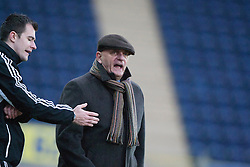 Forfar Athletic manager Dick Campbell..Falkirk 4 v 1 Forfar Athletic, Scottish Cup fifth round tie, 2/2/2013. .©Michael Schofield.