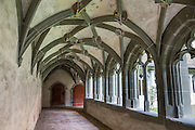 Cloister. St. George's Abbey (Kloster Sankt Georgen) was founded around 1007 as a Benedictine monastery in Stein am Rhein village, on the banks of the Rhine at the western end of Lake Constance. The fascinating Klostermuseum is one of Switzerland's most important historic buildings from the late Middle Ages and early Renaissance, built in the 1300s to 1500s.