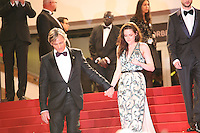 Viggo Mortensen, Kristen Stewart,  at the On The Road gala screening red carpet at the 65th Cannes Film Festival France. The film is based on the book of the same name by beat writer Jack Kerouak and directed by Walter Salles. Wednesday 23rd May 2012 in Cannes Film Festival, France.