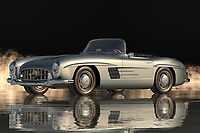 """The Mercedes 300SL Roadster is one of those cars that has a hard time getting inside someone's mind. Its looks are so unique that it's instantly recognizable and immediately evoking a feeling of """"cool"""". This car truly represents the ultimate of Mercedes, both in looks and performance. Many would agree, the car is the ultimate sports car and everyone should own one at least once in their lifetime.<br /> <br /> One of the greatest features of this roadster is the high-performance engine that makes it the most powerful production car in its class. With a flat torque of over five hundred kilometers per hour, you can be sure that you will be headed towards your favorite driver at top speed in no time. The power is transmitted through an electronically controlled seven-stage controller and six-speed paddle. You will also get to enjoy the exclusive DTS multimedia system including DTS Surround Sound, Voice Recognition, Hands Free Linkage, and Voice activation. All of these combined will allow you to fully enjoy the driving experience of your Mercedes 300SL Roadster.<br /> <br /> Another great feature of the Mercedes 300SL Roadster is its aerodynamic features that work to maximize the area of air space available for the passengers and the driver. Mercedes has done a tremendous job of designing this roadster to work well with its large, low-drag body. It also works to reduce the weight of the automobile from its foundation down to the smallest component in the engine compartment. The result of all of these engineering features is an automobile that is literally the most beautiful sports car that has ever been developed in the history of man. If you have been looking for a vehicle that offers the ultimate in functionality, beauty, power, elegance, durability, value, and style then there are no other choice but the Mercedes 300SL Roadster."""