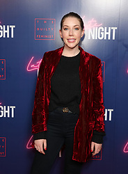 Katherine Ryan attending the LATE NIGHT Gala Screening at Picture House Central, London. Picture dated: Monday May 20, 2019. Photo credit should read: Isabel Infantes / EMPICS Entertainment.