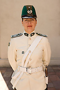 Guard at La Moneda, Santiago, Chile