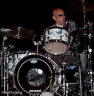 Billy Lee Lewis (drums - Percussion) - Delta Rhythm Kings in concert with Roy Rogers, Triple Door, Seattle, WA, USA