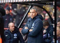 Brighton & Hove Albion's Manager Chris Hughton