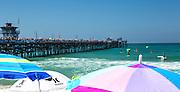 At The Beach In San Clemente California