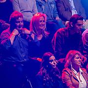 NLD/Amsterdam/20181031 - Boxingstars 2018, 1e aflevering, Rene Froger en partner Natasja Kunst