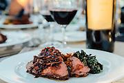Grilled Beef Tenderloin Northstar Winery Harvest Dinner