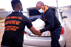 South Africa Cape Town 27 May 2020 Lunga Luthuli from Sisonke  movement of sex workers by sex workers delivering food parcels and sanitary towels to sex workers that are struggling to work due to lockdown restrictions in different areas of the Western Cape Khayelitsha Stellenbocsh Rondebosch Gugulethu Nyanga. He says it's been challenging few months for them to make money they also be fighting for discrimination of sex workers in the country Photographer Ayanda Ndamane African news agency/ANA