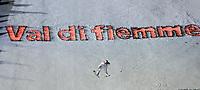 Val di Fiemme/Predazzo.2003-02-22/ Hopp stor bakke K120<br />Tommy Ingebrigtsen i det 1 hoppet<br />Foto, Calle Toernstroem