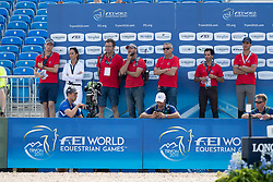 Swiss Team, Kistler Andy<br /> World Equestrian Games - Tryon 2018<br /> © Hippo Foto - Dirk Caremans<br /> 20/09/2018