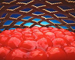 cherry pie with lattice crust Morgan Howarth