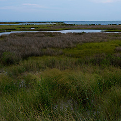 August 4, 2017 - Tangier Island, VA - Portions of a 360 degree view of Tangier Island as seen from Bayside Beach.<br /> Photo by Susana Raab/Institute