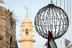 2 May 2016, Bethlehem, Palestine: Mosque in Bethlehem.