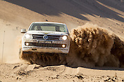 Sarel van der Merwe hosts the 8th Volkswagen Commercial Vehicles Amarok Spirit of Africa Challenge finals at Assen Kerhr in Southern Namibia. 20 teams compete over four days in an atmept to claim the title. Image by Greg Beadle Commercial photography commissioned to Beadle Photo by international brands