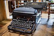 Manual typewriter from 1920/30s, Ushuaia, Argentina.
