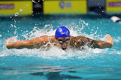 November 16, 2019, Beltsville, Washington, Maryland: Foto Gian Mattia D'Alberto/LaPresse.16 Novembre 2019 Beltsville, Washington (USA).Sport.International Swimming League, la prima giornata a Washington.Nella foto: Caeleb Dressel..Photo Gian Mattia D'Alberto/LaPresse.November 16, 2019 Beltsville, Washington  (USA).Sport.International Swimming League, the first day in Washington.in the picture: Caeleb Dressel (Credit Image: © Gian Mattia D'Alberto/Lapresse via ZUMA Press)