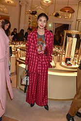 Caroline Issa at the reopening of the Cartier Boutique, New Bond Street, London, England. 31 January 2019. <br /> <br /> ***For fees please contact us prior to publication***
