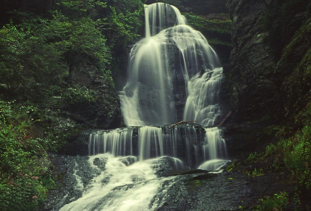 Dingman's Falls, Delaware National Scenic River and Recreation Area, Pocono Mountains, Pike Co., NE PA
