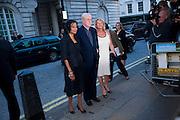 SHAKIRA CAINE; MICHAEL CAINE; NIKKI CAINE, Is Anybody here film premiere. Curzon Mayfair. London. 29 April 2009