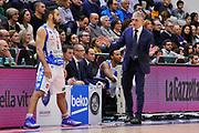DESCRIZIONE : Beko Legabasket Serie A 2015- 2016 Dinamo Banco di Sardegna Sassari - Openjobmetis Varese<br /> GIOCATORE : Rok Stipcevic Marco Calvani<br /> CATEGORIA : Allenatore Coach Curiosià<br /> SQUADRA : Dinamo Banco di Sardegna Sassari<br /> EVENTO : Beko Legabasket Serie A 2015-2016<br /> GARA : Dinamo Banco di Sardegna Sassari - Openjobmetis Varese<br /> DATA : 07/02/2016<br /> SPORT : Pallacanestro <br /> AUTORE : Agenzia Ciamillo-Castoria/C.Atzori