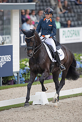 Maas Lynne, NED, Eastpoint<br /> World Championship Young Dressage Horses <br /> Ermelo 2016<br /> © Hippo Foto - Dirk Caremans<br /> 29/07/16