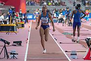 *** during the 2019 IAAF World Athletics Championships at Khalifa International Stadium, Doha, Qatar on 5 October 2019.