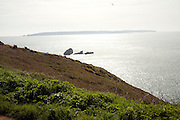 View to Sark from the Island of Herm, Channel Islands, Great Britain