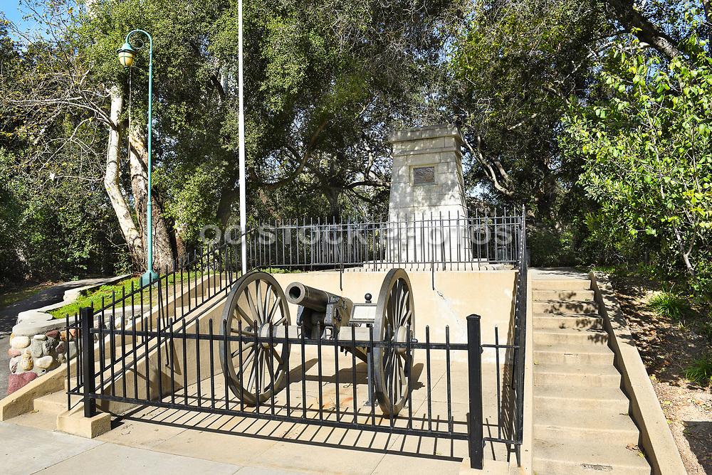 Civil War Cannon at Irvine Regional Park