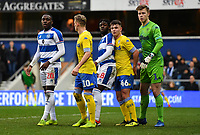 Football - 2018 / 2019 FA Cup - Third Round: Queens Park Rangers vs. Leeds United<br /> <br /> Waiting for a corner to be taken, at Loftus Road.<br /> <br /> COLORSPORT/ASHLEY WESTERN
