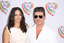 © Licensed to London News Pictures. 02/06/2014, UK. Jim Lauren Silverman & Simon Cowell, Health Lottery Tea Party, The Savoy Hotel, London UK, 02 June 2014. Photo credit : Brett D. Cove/Piqtured/LNP