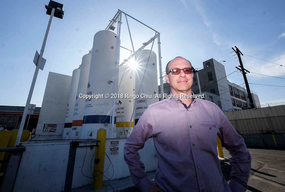 Ross Sklar, CEO Starco Group, at a plant is called Four Star Chemical in Vernon.(Photo by Ringo Chiu)<br /> <br /> Usage Notes: This content is intended for editorial use only. For other uses, additional clearances may be required.