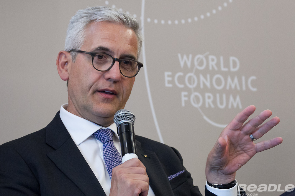 Ulrich Spiesshofer, President and Chief Executive Officer<br /> ABB at the World Economic Forum on Africa 2017 in Durban, South Africa. Copyright by World Economic Forum / Greg Beadle