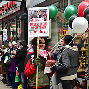 Palestine's Land Day in London, UK