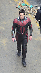 The Avengers filmed today in Atlanta with actors Robert Downey Jr., Chris Evans and Paul Rudd. 11 Jan 2018 Pictured: Paul Rudd. Photo credit: MEGA TheMegaAgency.com +1 888 505 6342