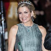 NLD/Amsterdam/20180424 - koning en koningin bieden Corps Diplomatique diner aan, Koningin Maxima