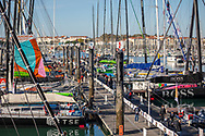 Atmosphere 1 day before the opening of the village of the Vendée Globle 2020 on October 16, 2020 in Les Sables d'Olonne, France - Photo Eloi Stichelbaut / polaRYSE / IMOCA / ProSportsImages / DPPI